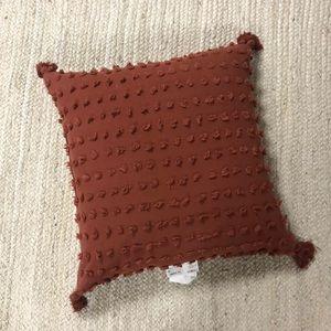 "NEW Opalhouse 24"" Euro Clipped Bronze Throw Pillow"
